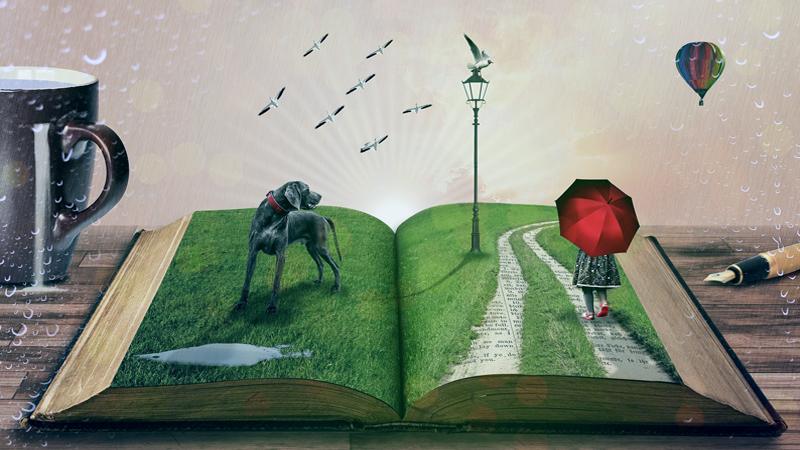 """""""Auf den Spuren deines Lebens"""" - gemeinsame Lesung der Schreibwerkstätten"""